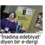 'İnadına edebiyat' diyen bir e-dergi